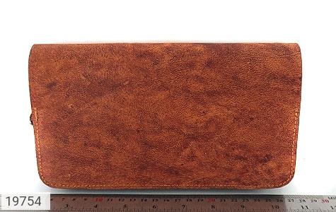 کیف چرم طبیعی قهوه ای ابروبادی دستی طرح کلاسیک - عکس 7