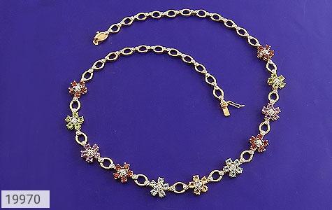 سینه ریز چندنگین الماس دار مانی طرح اشرافی بی نظیر زنانه - تصویر 2
