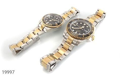 ساعت رولکس Rolex مجلسی دو رنگ زه قاب چرخشی - تصویر 2
