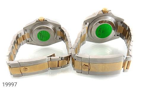 ساعت رولکس Rolex مجلسی دو رنگ زه قاب چرخشی - عکس 3