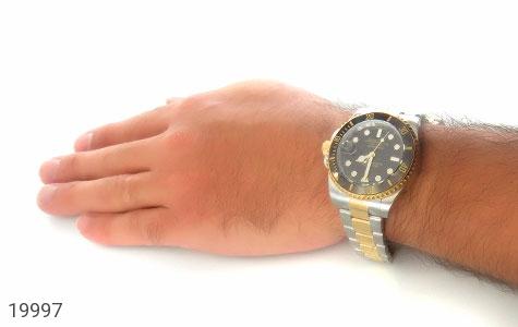 ساعت رولکس Rolex مجلسی دو رنگ زه قاب چرخشی - عکس 5