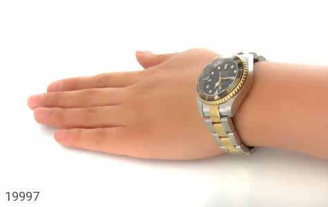 ساعت رولکس Rolex مجلسی دو رنگ زه قاب چرخشی - تصویر 6
