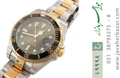 ساعت رولکس Rolex مجلسی دو رنگ زه قاب چرخشی زنانه - کد 19998