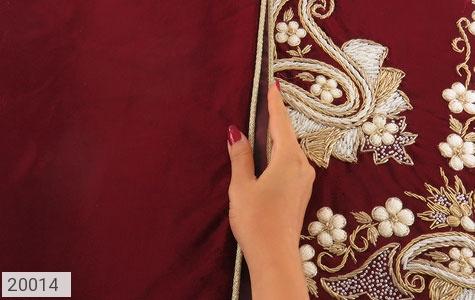 ترمه نگین تزئینی هنر دست - عکس 5