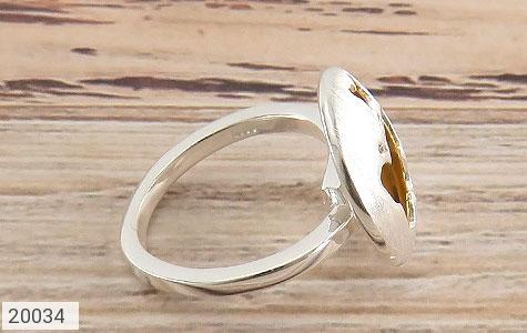 انگشتر نقره زیبا طرح پروانه زنانه - عکس 3