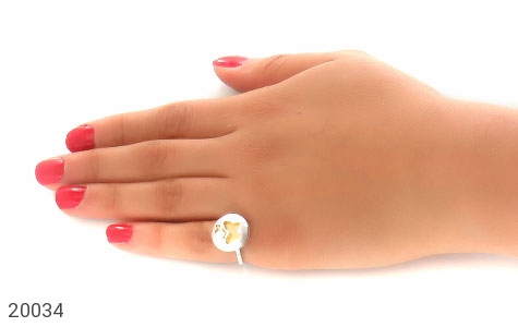 انگشتر نقره زیبا طرح پروانه زنانه - عکس 7