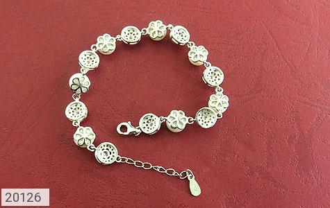 دستبند مروارید لوکس طرح عروس زنانه - عکس 3