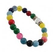 دستبند جید رنگارنگ ام البنین زنانه
