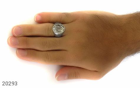 انگشتر دُر نجف طرح یاشار مردانه - عکس 7