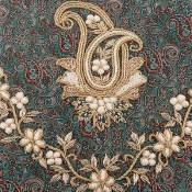 ترمه رومیزی سایز بزرگ طرح سنتی و فاخر