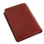 کیف چرم طبیعی قهوه ای خوش رنگ مدل جیبی