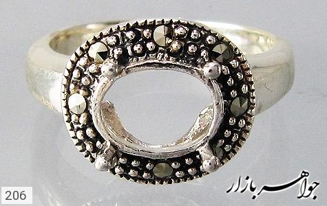 انگشتر مارکازیت بدون نگین زنانه - تصویر 2