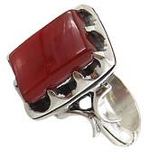 انگشتر عقیق قرمز درشت طرح سلمان مردانه
