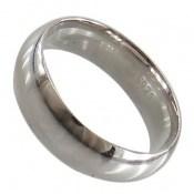 حلقه ازدواج نقره رینگی پهن
