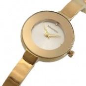 ساعت رمانسون Romanson طلائی مجلسی زنانه