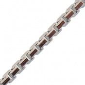 زنجیر نقره طرح کلاسیک 46 سانتی