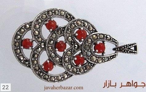 مدال مارکازیت درشت زنانه - عکس 1