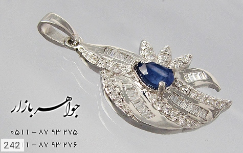 مدال تـایلنـدی طرح یاقوت زنانه - تصویر 4