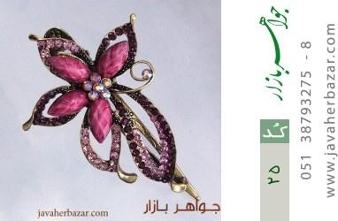 گل سر درشت زنانه - کد 25