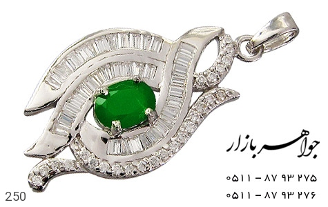 مدال جید پرنگین زنانه - عکس 1