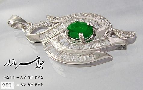 مدال جید پرنگین زنانه - تصویر 4