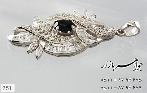 مدال تـایلنـدی درشت طرح یاقوت زنانه - تصویر 4