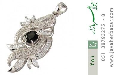 مدال تـایلنـدی درشت طرح یاقوت زنانه - کد 251