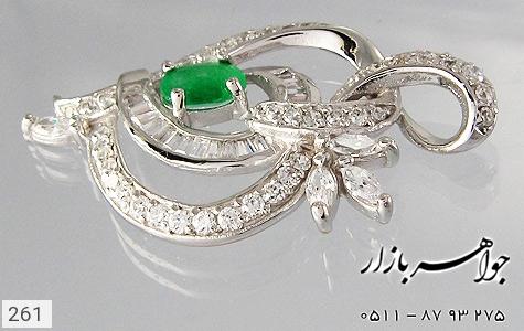 مدال جید طرح قلب درشت زنانه - عکس 3