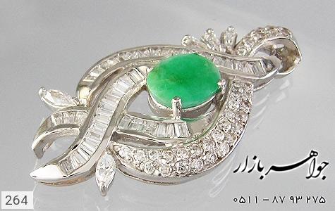 مدال زمرد طرح پرنسس زنانه - تصویر 4