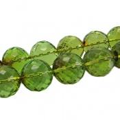 تسبیح کهربا سبز تراش دریای بالتیک درشت