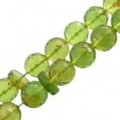 تسبیح کهربا سبز تراش دریای بالتیک درشت 33 دانه