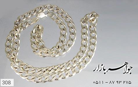 زنجیر نقره ایتالیایی درشت سنگین - عکس 3