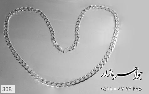 زنجیر نقره ایتالیایی درشت سنگین - تصویر 4