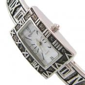 ساعت نقره رومی زنانه
