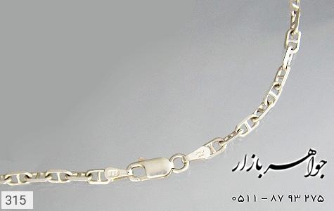 زنجیر نقره ایتالیایی سنگین - تصویر 4