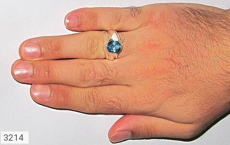 انگشتر توپاز رکاب دست ساز - تصویر 6