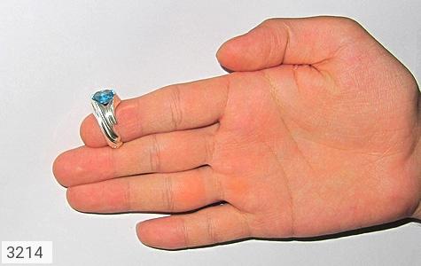 انگشتر توپاز رکاب دست ساز - عکس 7