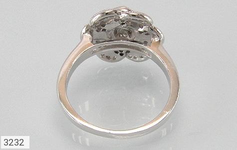 انگشتر نقره میکرو طرح گل - تصویر 2