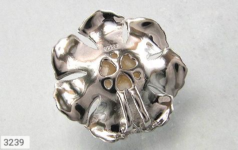 مدال مروارید گل زنانه - تصویر 2