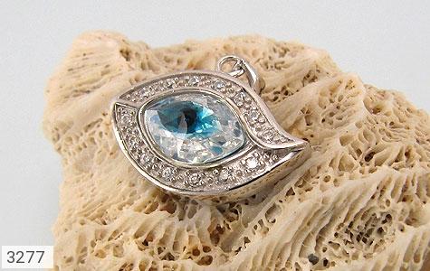 مدال نقره چشم زخم درشت زنانه - تصویر 4