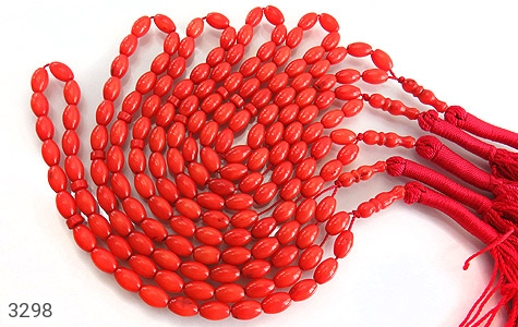 تسبیح مرجان هلی سایز متوسط 33 دانه - تصویر 8