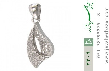 مدال نقره میکرو طرح پیچ زنانه - کد 3309
