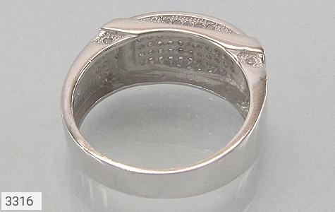 انگشتر نقره طرح رادان مردانه - عکس 3