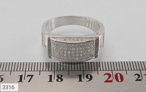 انگشتر نقره طرح رادان مردانه - تصویر 4
