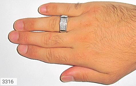 انگشتر نقره طرح رادان مردانه - تصویر 6
