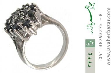 انگشتر یاقوت کبود طرح رها زنانه - کد 3324
