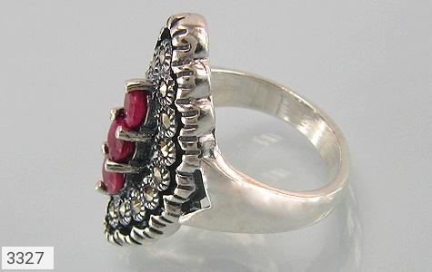 انگشتر یاقوت سرخ نازدخت زنانه - عکس 1