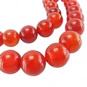 تسبیح عقیق قرمز 33 دانه سایز درشت