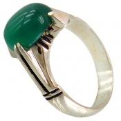 انگشتر عقیق سبز