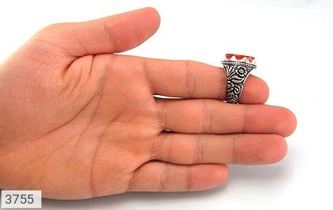 انگشتر عقیق یمن لوکس حکاکی یا کاشف الکرب استاد عبد - تصویر 12